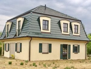 Ein vom Hoehne Dachdeckerbetrieb neu eingedecktes Dach